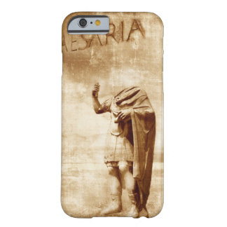 roman forum, headless statue of roman leader barely there iPhone 6 case