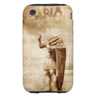 roman forum, headless statue of roman leader iPhone 3 tough covers
