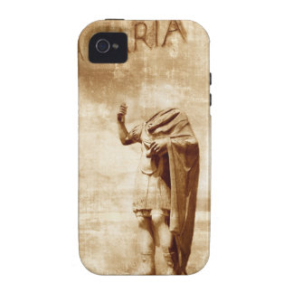 roman forum, headless statue of roman leader vibe iPhone 4 cover