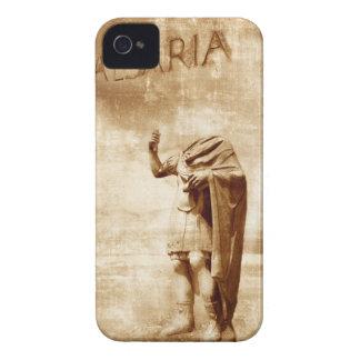 roman forum, headless statue of roman leader iPhone 4 Case-Mate case