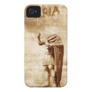 roman forum, headless statue of roman leader Case-Mate iPhone 4 case