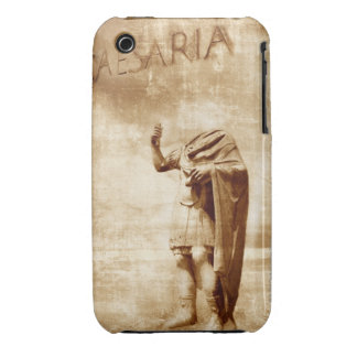 roman forum, headless statue of roman leader iPhone 3 Case-Mate case