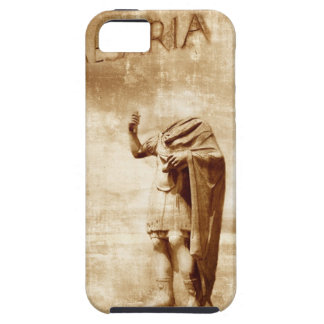 roman forum, headless statue of roman leader iPhone 5 case