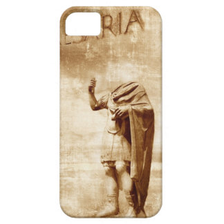 roman forum, headless statue of roman leader iPhone 5 covers