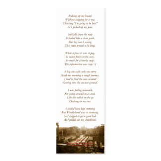 Roman Forum poetry bookmark Pack Of Skinny Business Cards