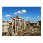 Roman Forum Postcard