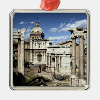 Roman Forum, Rome, Italy Christmas Ornament
