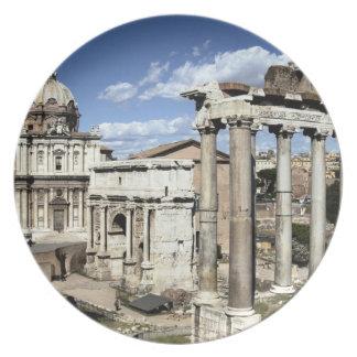 Roman Forum, Rome, Italy Dinner Plate