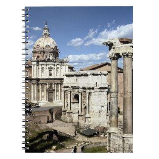 Roman Forum, Rome, Italy Notebook