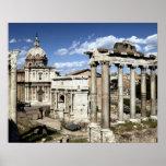 Roman Forum, Rome, Italy Poster