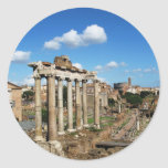 Roman Forum Round Sticker