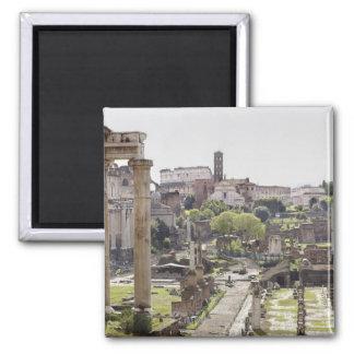 Roman Forum Square Magnet