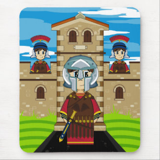 Roman Gladiator at Fort Mouspad Mouse Pad