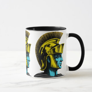 Roman Gladiator Pop Art Portrait Mug