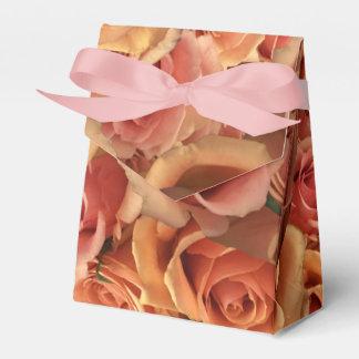 Roman Grenadier Roses Favour Boxes