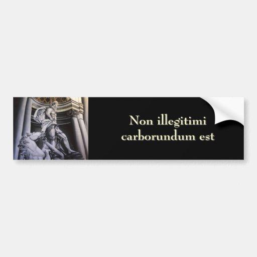 Roman Hero bumper stickers