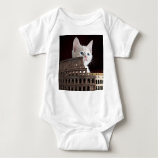 roman kitty baby bodysuit