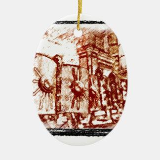 Roman Legionary... Christmas Ornament