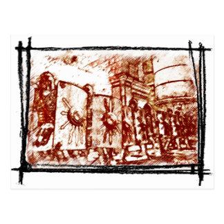 Roman Legionary... Postcard