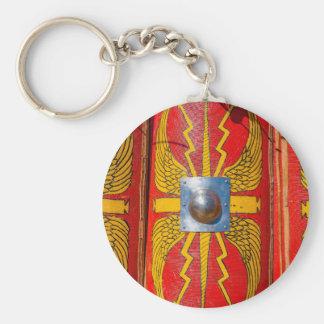 Roman Military Shield - Scutum Key Ring