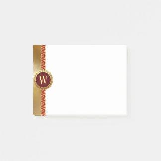 Roman Monogram Post-it Notes
