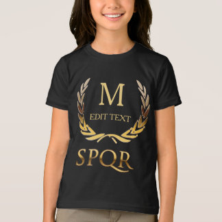 Roman Monogram T-Shirt