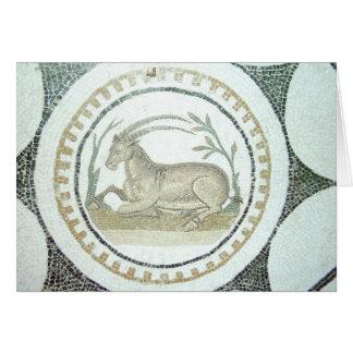 Roman Mosaic Card