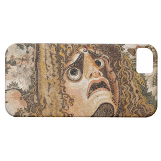 Roman mosaic, with mask, leaves and fruit barely there iPhone 5 case