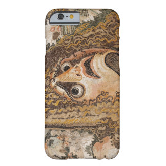 Roman mosaic, with mask, leaves and fruit barely there iPhone 6 case