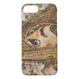 Roman mosaic, with mask, leaves and fruit iPhone 7 case