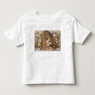 Roman mosaic, with mask, leaves and fruit toddler T-Shirt