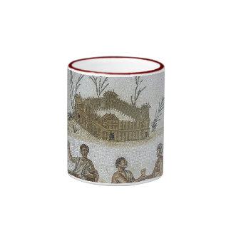 Roman Mosaics Ringer Mug