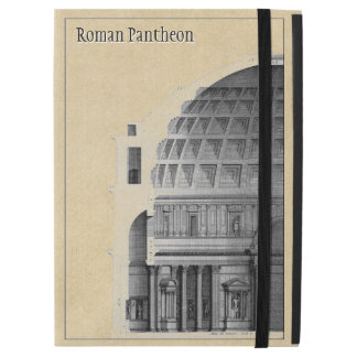 "Roman Pantheon Classical Architecture Personalized iPad Pro 12.9"" Case"