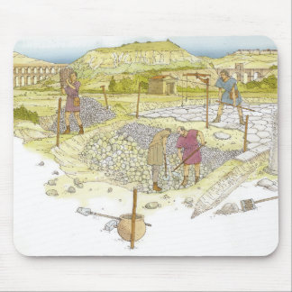 Roman road. Detail Mouse Mat