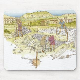 Roman road. Detail Mouse Pad