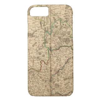 Roman roads and battlefields iPhone 7 case