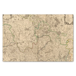 Roman roads and battlefields tissue paper