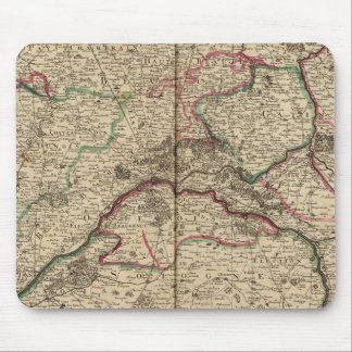 Roman roads and chapels mouse mat