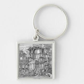 Roman Ruins Keychains