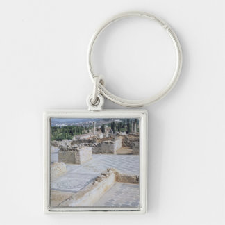 Roman ruins of the port of Emporion Keychain