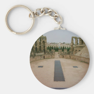 Roman ruins Tunisia Keychain