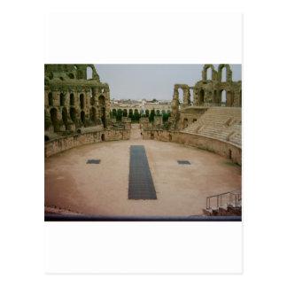Roman ruins Tunisia Postcard