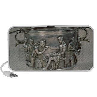Roman silver-gilt drinking cup mini speakers