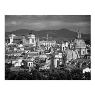 Roman Skyline Postcard