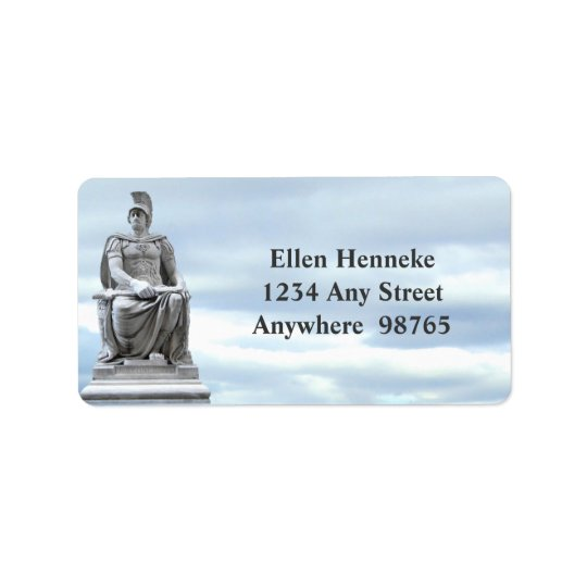 Roman Soldier Address Label