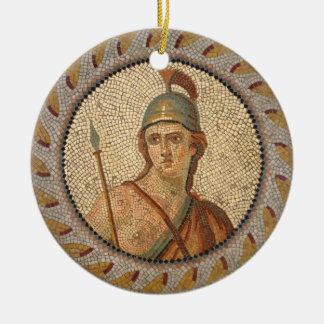 Roman Soldier Mosaic Christmas Ornament