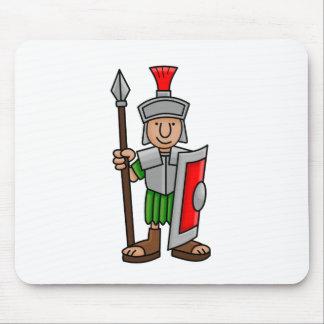 roman soldier mouse mat