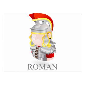Roman soldier postcards