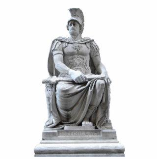 Roman Soldier Standing Photo Sculpture
