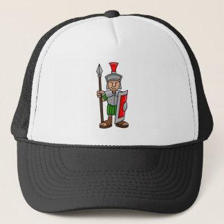 roman soldier trucker hat